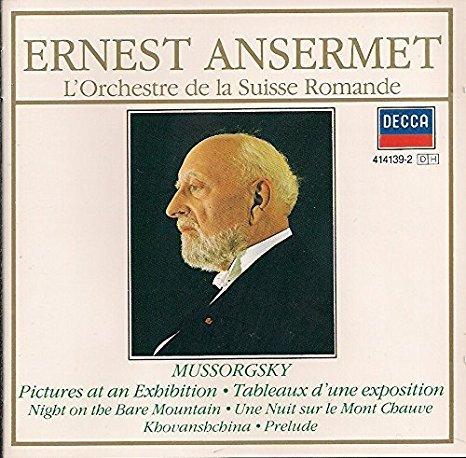 Les Tableaux d'une exposition, piano : orchestration de Ravel / Modeste Moussorgski | Moussorgski, Modeste (1839-1881)