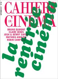 CAHIERS DU CINEMA / dir. publ. Anne Chaussebourg   Chaussebourg, Anne. Directeur de publication
