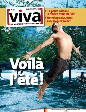 VIVA MAGAZINE : le magazine de Villeurbanne / dir. publ.Jean-Paul Bret   Bret, Jean-Paul. Dir. publ.
