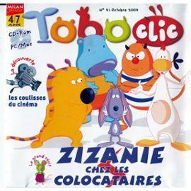 TOBOCLIC : le magazine multimédia pour les 4 à 7 ans / dir. publ. Patrice Amen | Amen, Patrice. Metteur en scène ou réalisateur