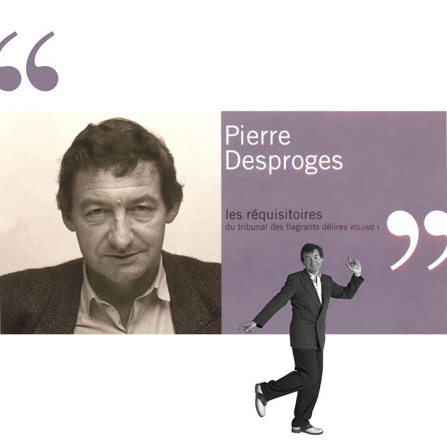 Les Réquisitoires du tribunal des flagrants délires. 1 / Pierre Desproges | Desproges, Pierre (1939-1988). Narrateur