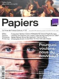 FRANCE CULTURE PAPIERS : la première radio à lire / dir. publ.Georges Sanerot   Sanerot, Georges. Directeur de publication