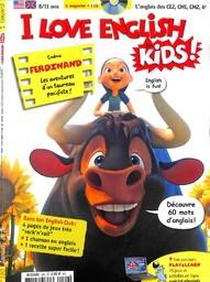 I LOVE ENGLISH FOR KIDS : l'anglais des CE2, CM1, CM2, 6e / dir. publ. Georges Sanerot   Sanerot, Georges. Directeur de publication