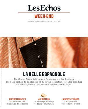 LES ECHOS WEEK-END : business story, culture, style...et moi / dir. publ. Francis Morel   Morel, Francis. Directeur de publication