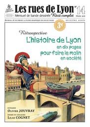 histoire de Lyon en dix pages (L') : pour faire le malin en société / scénario Olivier Jouvray | Jouvray, Olivier (1970-...). Auteur