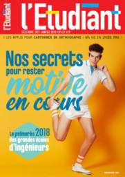L' ETUDIANT. 422-423, 01/12/2017 |