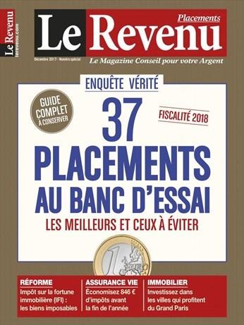 LE REVENU PLACEMENTS. 1458, 08/12/2017 |
