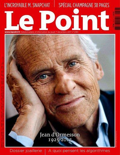 LE POINT. 2361, 07/12/2017 |