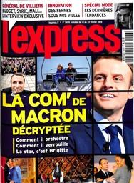 L' EXPRESS. 3476, 14/02/2018 |