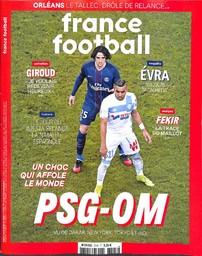 FRANCE FOOTBALL. 3745, 20/02/2018 |