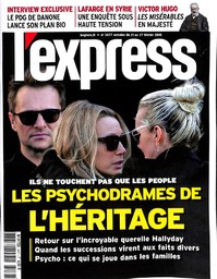 L' EXPRESS. 3477, 21/02/2018 |