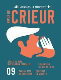 REVUE DU CRIEUR. 9, 01/02/2018 |
