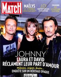 PARIS MATCH. 3589, 22/02/2018 |