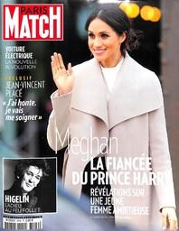 PARIS MATCH. 3596, 12/04/2018 |