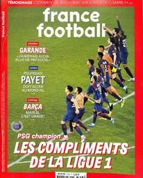 FRANCE FOOTBALL. 3753, 17/04/2018 |