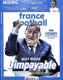 FRANCE FOOTBALL. 3779, 16/10/2018 |