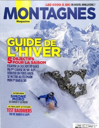 MONTAGNES MAGAZINE. 460, 01/01/2019 : Guide de l'hiver : 5 objectifs pour la saison |