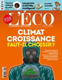 SPECIMENS. Pour l'éco n°4, 01/12/2018 : Climat/Croissance : faut-il choisir ? / dir. de publ. Stéphane Marchand | Marchand, Stéphane (1961-....). Directeur de publication