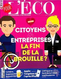 SPECIMENS. POUR L'ECO n°7, 01/03/2019 : Citoyens et entreprises : la fin de la brouille ? / dir. de publ. Stéphane Marchand | Marchand, Stéphane (1961-....). Directeur de publication