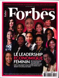 SPECIMENS. FORBES AFRIQUE n°55, 01/03/2019 : Le leadership économique féminin |