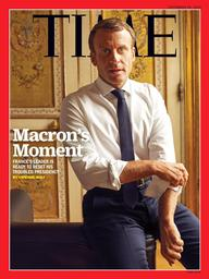 TIME. 40, 30/09/2019 : Macron's moment : France's leader is ready to resist his troubled presidency |