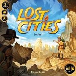 Lost Cities : Le duel / Reiner Knizia |