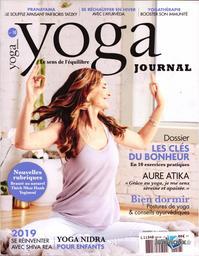 SPECIMENS. Yoga journal n°18, 01/01/2020  