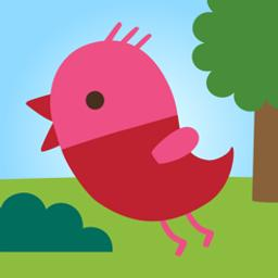 Sago mini vole dans la forêt |