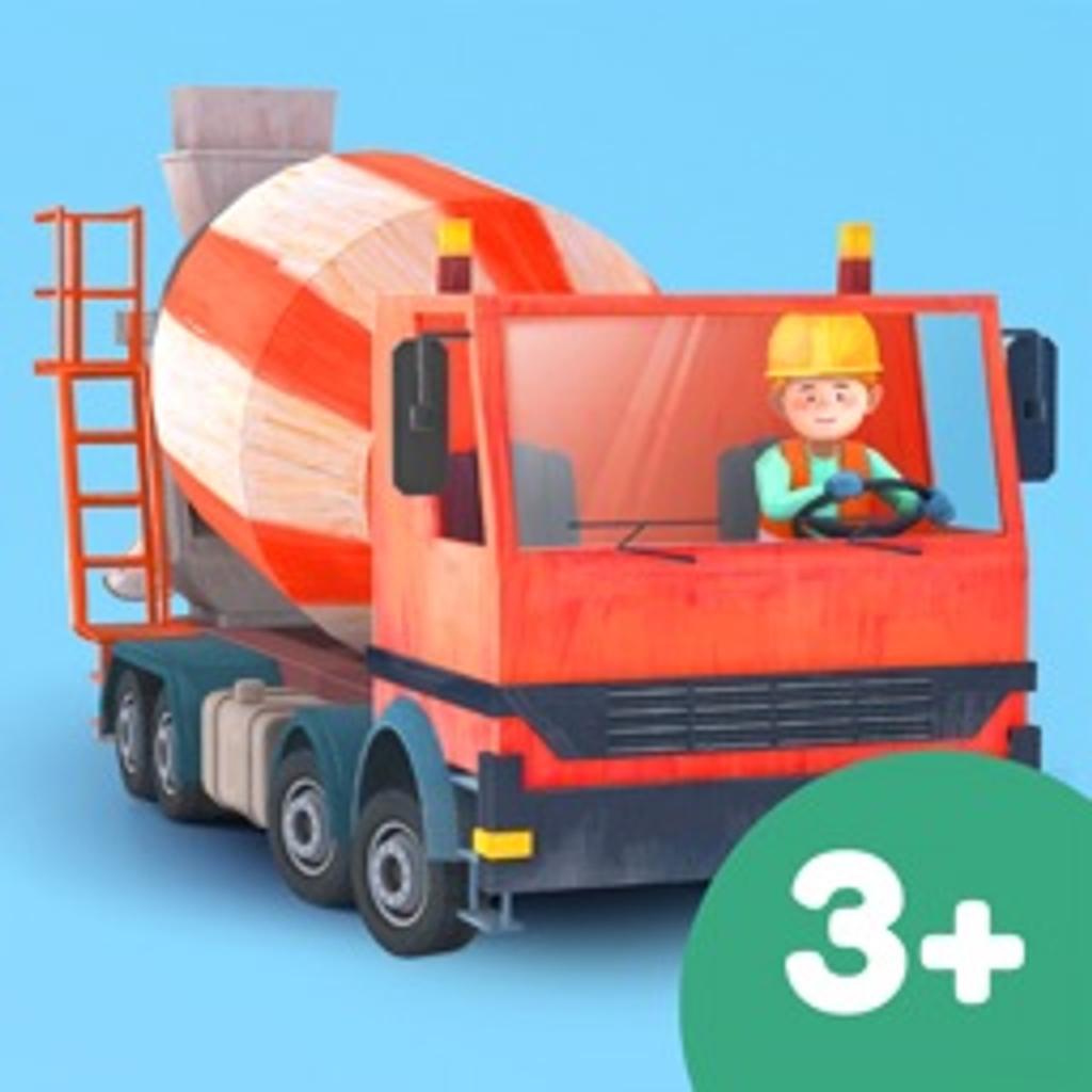 Petits constructeurs : camions et grues pour enfants |