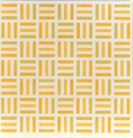 Tirets jaune, jaune-vert, jaune-orange / François Morellet | Morellet, François