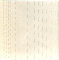 Tirets verticaux dont la longueur et l'espacement augmentent de 2 mm à chaque intervalle / François Morellet | Morellet, François